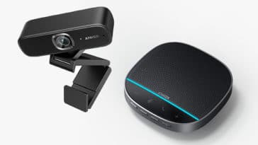 Anker is now making WFH webcams and conference speakers 1