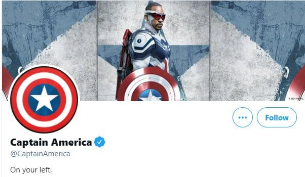 Sam Wilson replaces Steve Rogers on Captain America social media pages 15
