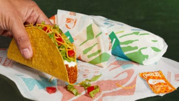 Taco Bell's Cravetarian Taco is made with vegan meat 15