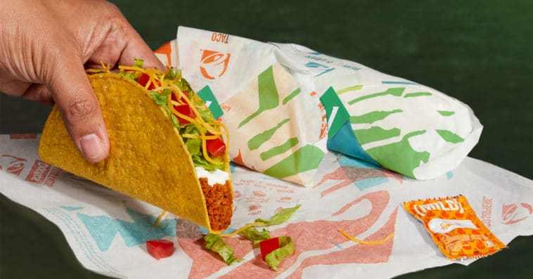 Taco Bell's Cravetarian Taco is made with vegan meat 16