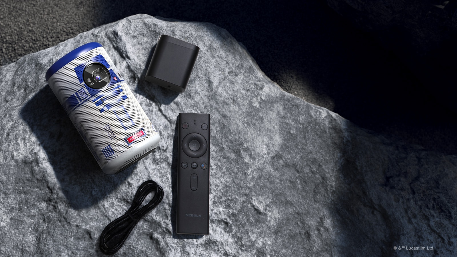 Star Wars-themed projector looks and sounds like R2-D2 13