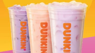 Dunkin' Donuts now offers Coconut Refreshers made with coconut milk 20