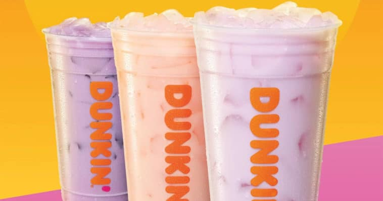 Dunkin' Donuts now offers Coconut Refreshers made with coconut milk 12
