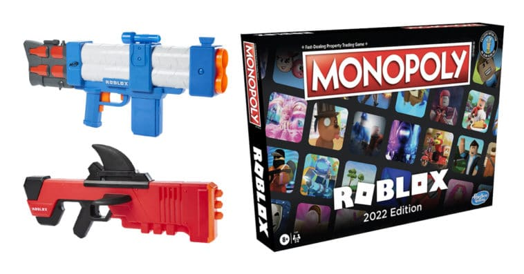 Hasbro unveils Roblox-inspired Nerf blasters and Monopoly: Roblox 2022 Edition 13