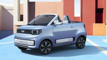 Hong Guang Mini EV Cabrio