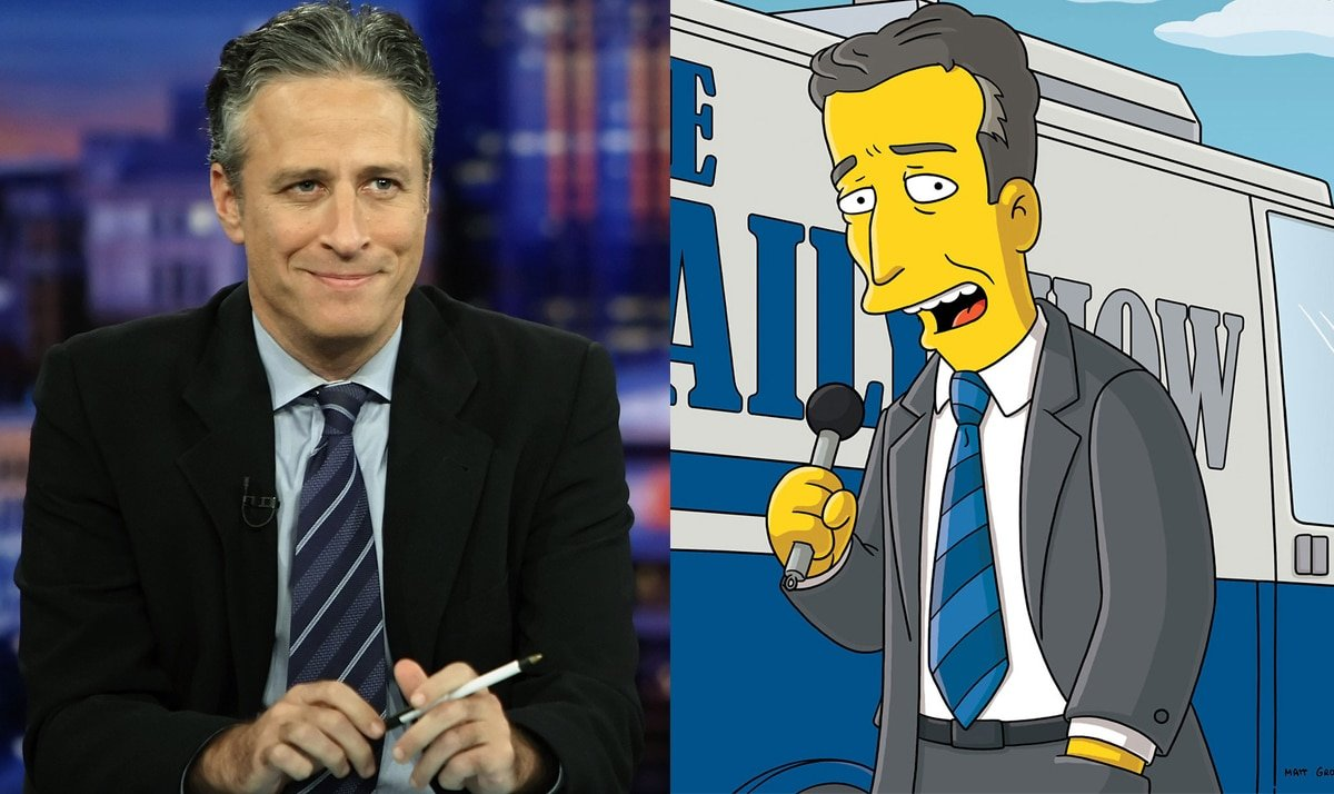Celebs who made guest appearances on The Simpsons 25