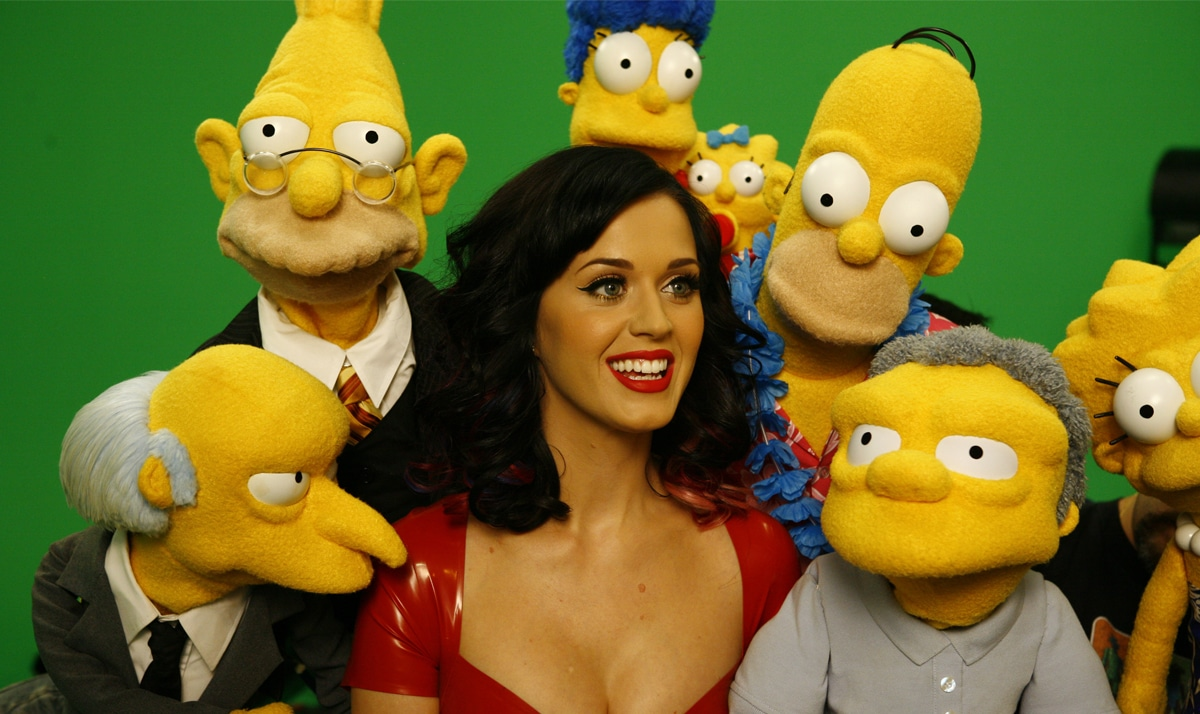 Celebs who made guest appearances on The Simpsons 26