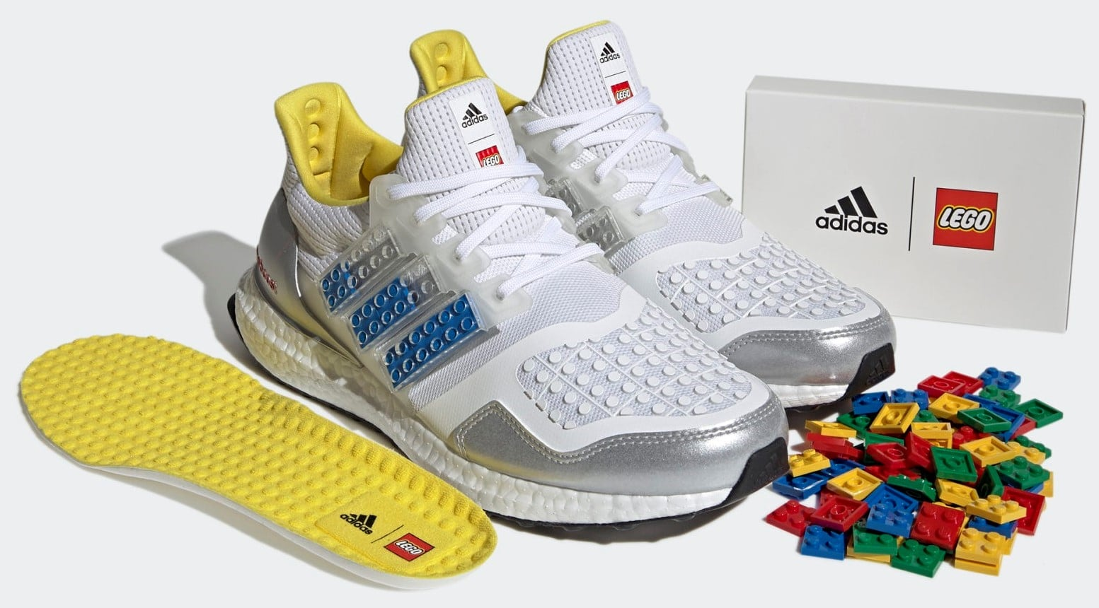 Adidas' new Ultraboost DNA sneaker is customizable with real LEGO plates 12