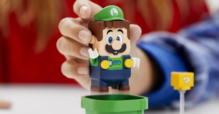 LEGO finally adds an interactive Luigi figure to its Super Mario line 12