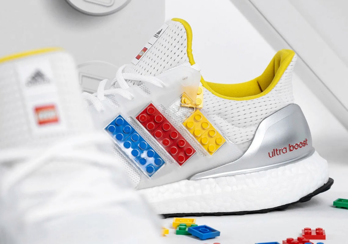 Adidas' new Ultraboost DNA sneaker is customizable with real LEGO plates 15