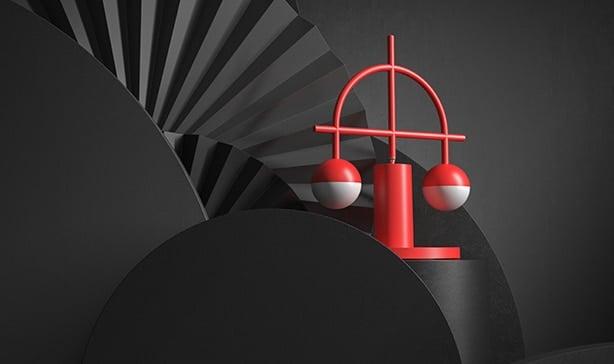 Lybra Lamp can self-balance on ANY surface 15