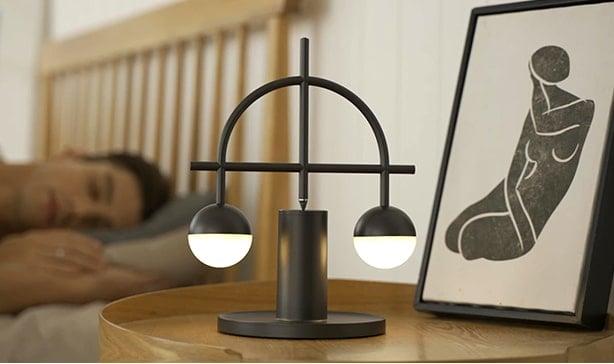 Lybra Lamp can self-balance on ANY surface 14