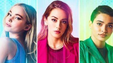 The CW's Powerpuff Girls trade their classic costumes for modern outfits in first official look 4