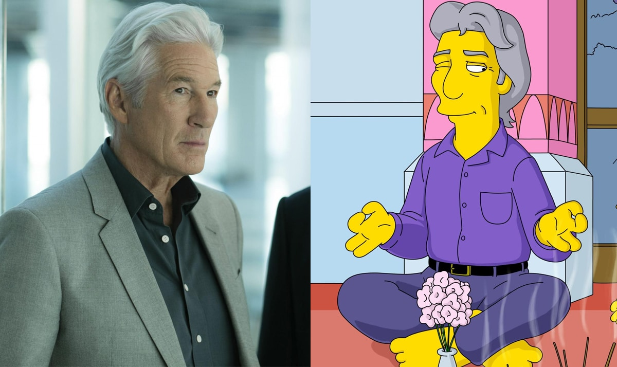 Celebs who made guest appearances on The Simpsons 35