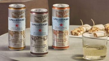S. Pellegrino's coffee-flavored sparkling waters are coming to the U.S. this spring 16