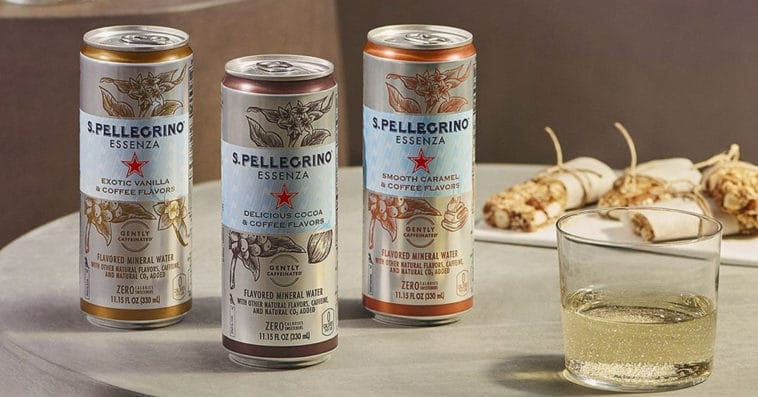 S. Pellegrino's coffee-flavored sparkling waters are coming to the U.S. this spring 13