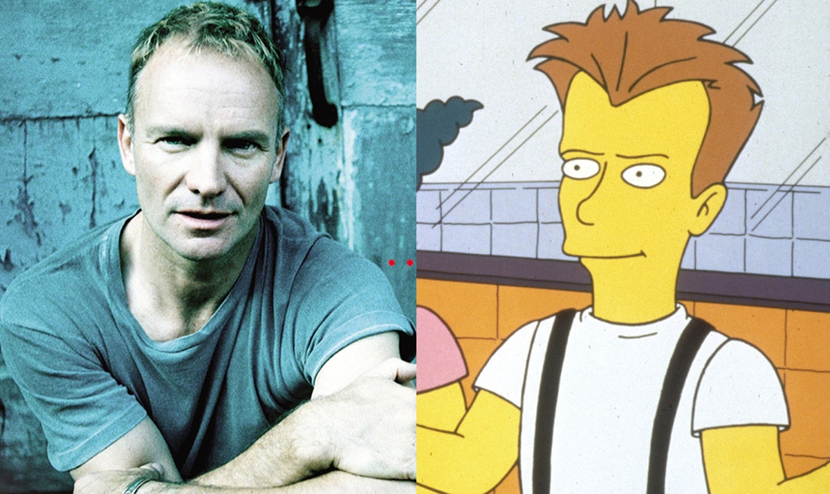 Celebs who made guest appearances on The Simpsons 38