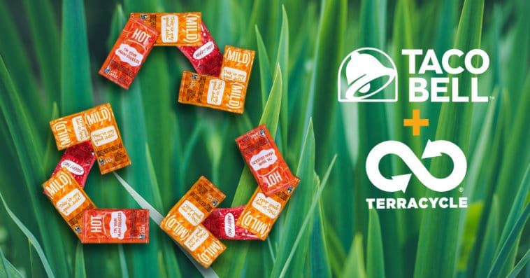 Taco Bell partners with TerraCycle to make its hot sauce packets recyclable 12