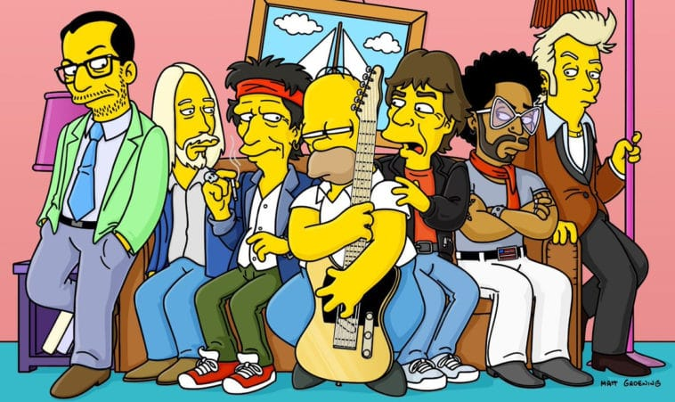 guest appearances on The Simpsons