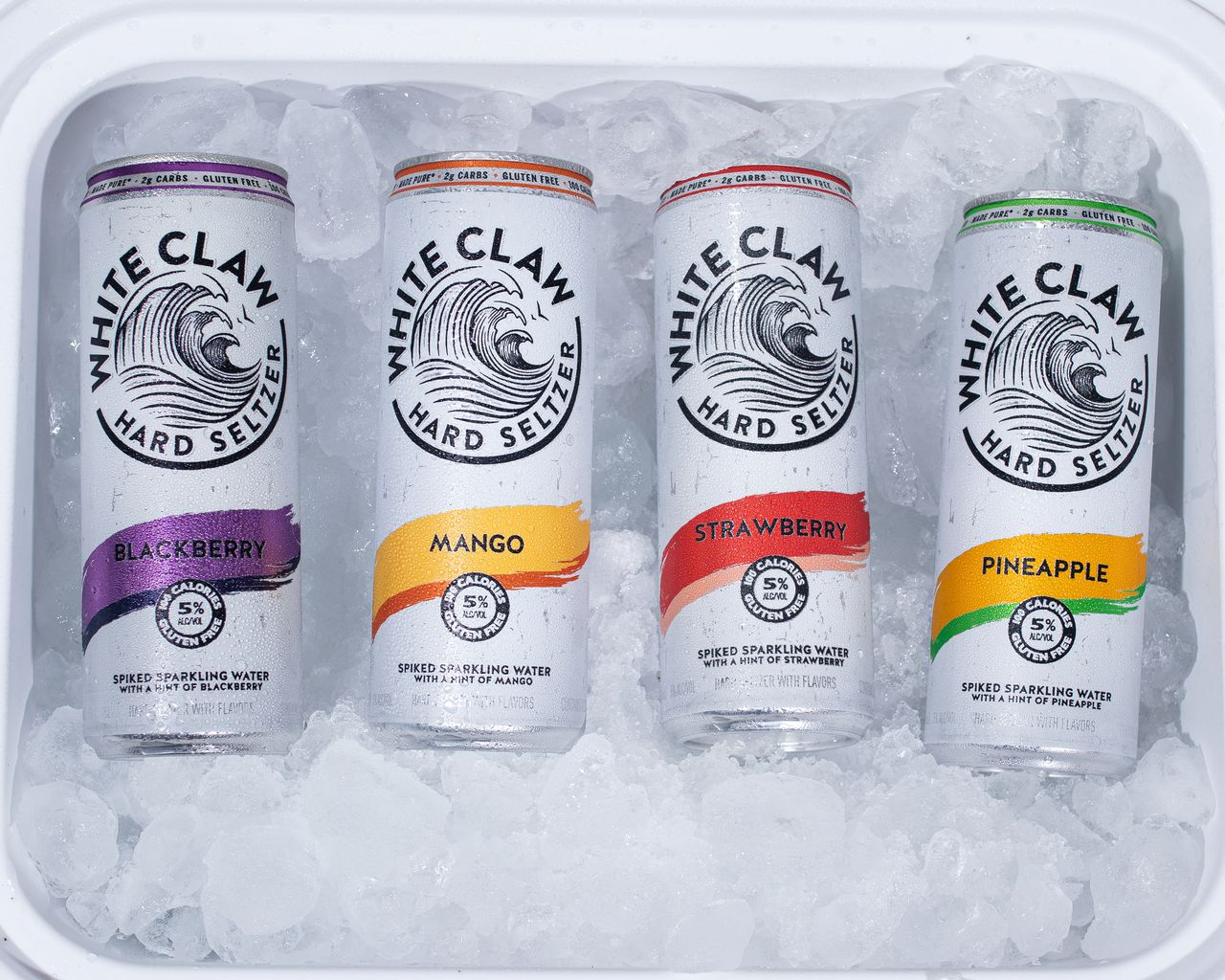 White Claw is launching a boozier version of its original hard seltzer 14