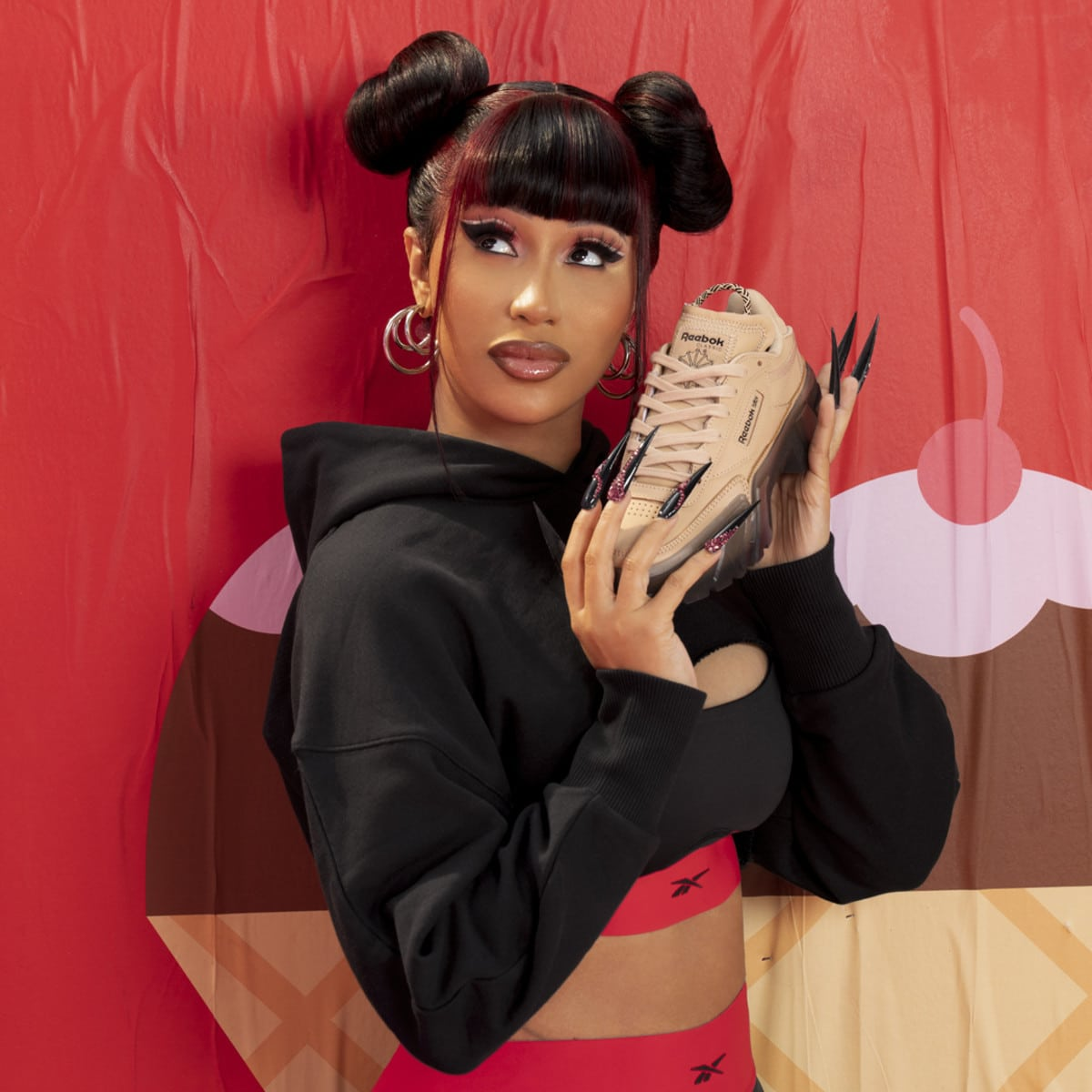 Cardi B partners with Reebok for a '90s-inspired athleisurewear collection 21