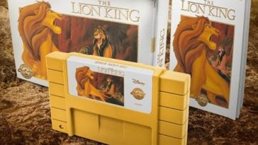 The Lion King SNES cartdridge is getting a playable rerelease 16
