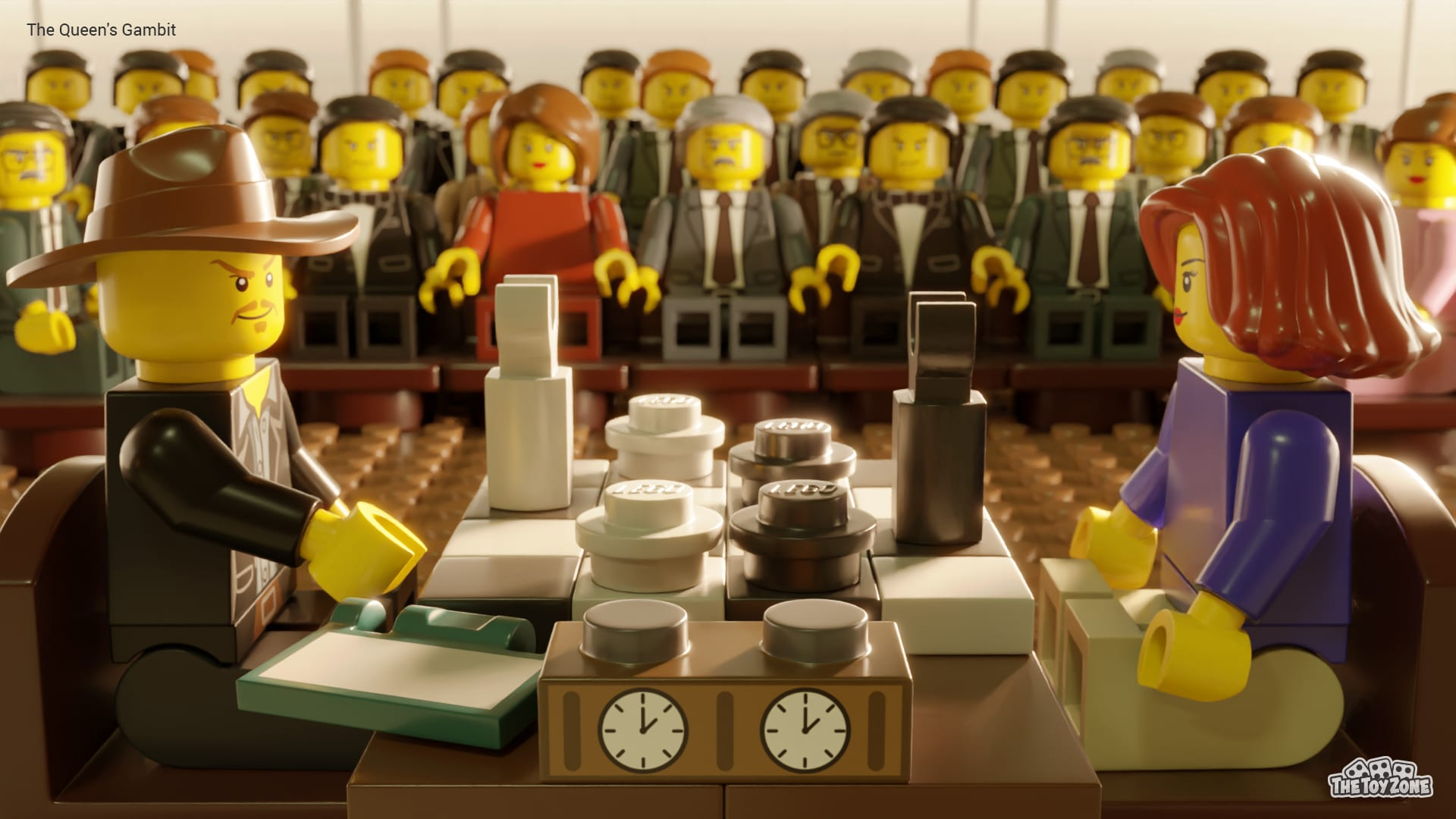 The Crown, Bridgerton, and other Netflix series get recreated in LEGO 22