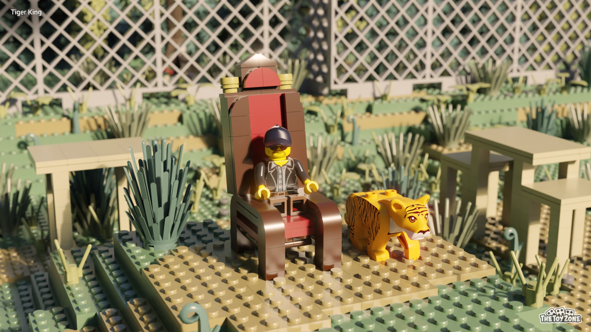 The Crown, Bridgerton, and other Netflix series get recreated in LEGO 26