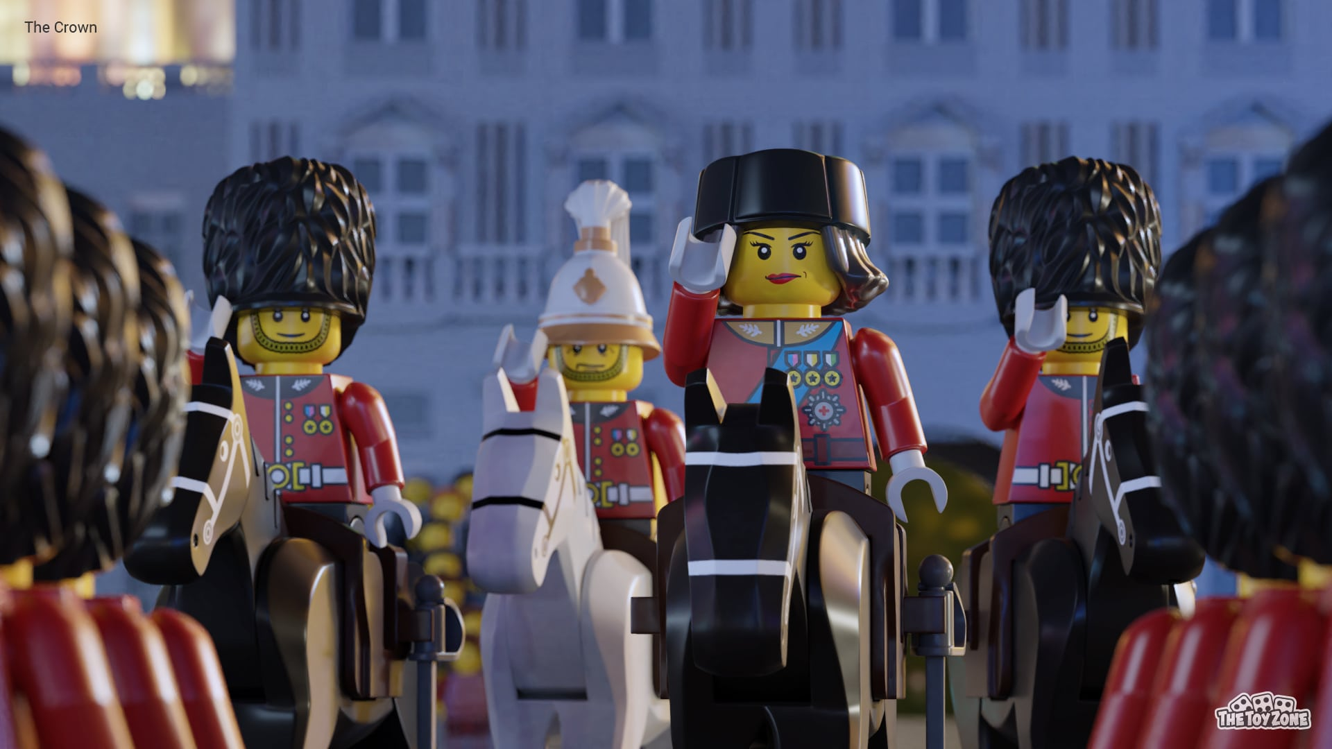 The Crown, Bridgerton, and other Netflix series get recreated in LEGO 16