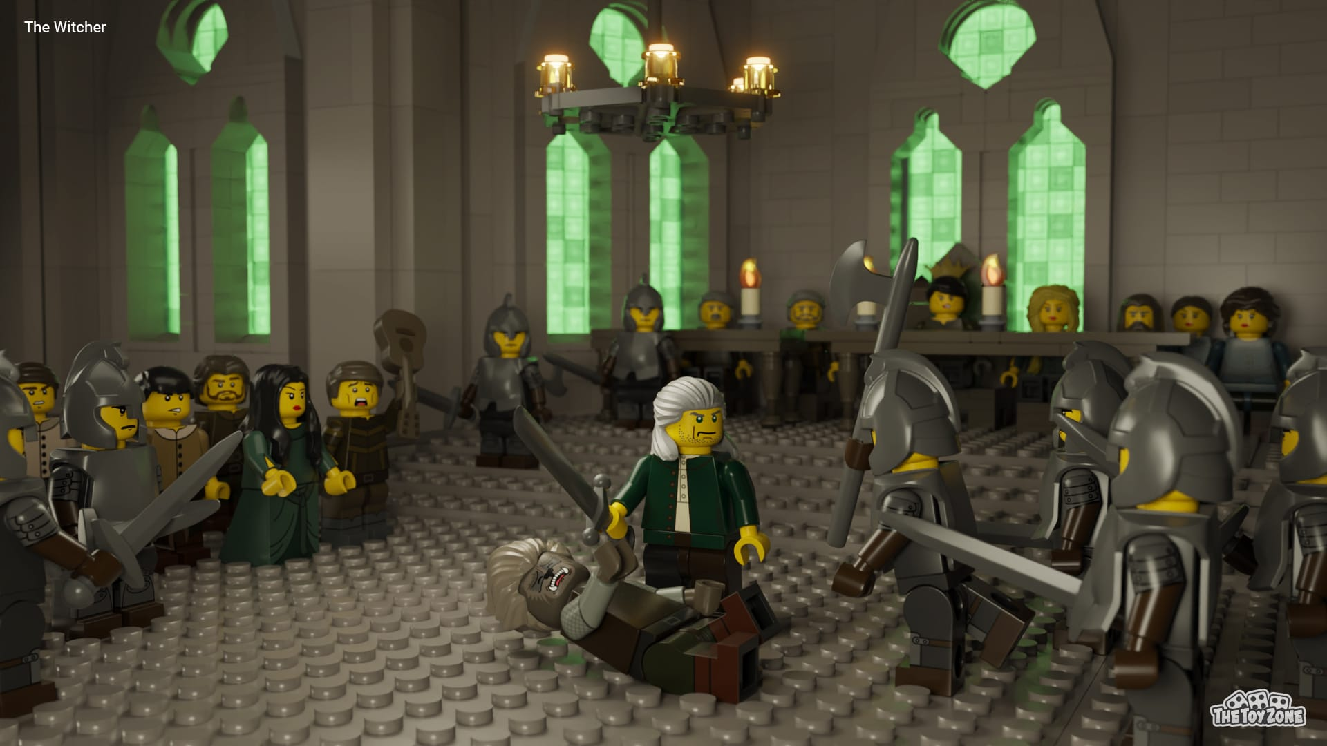 The Crown, Bridgerton, and other Netflix series get recreated in LEGO 20