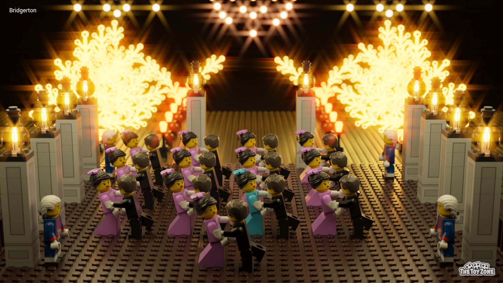 8 Scenes From Netflix Shows Re-created With LEGOs