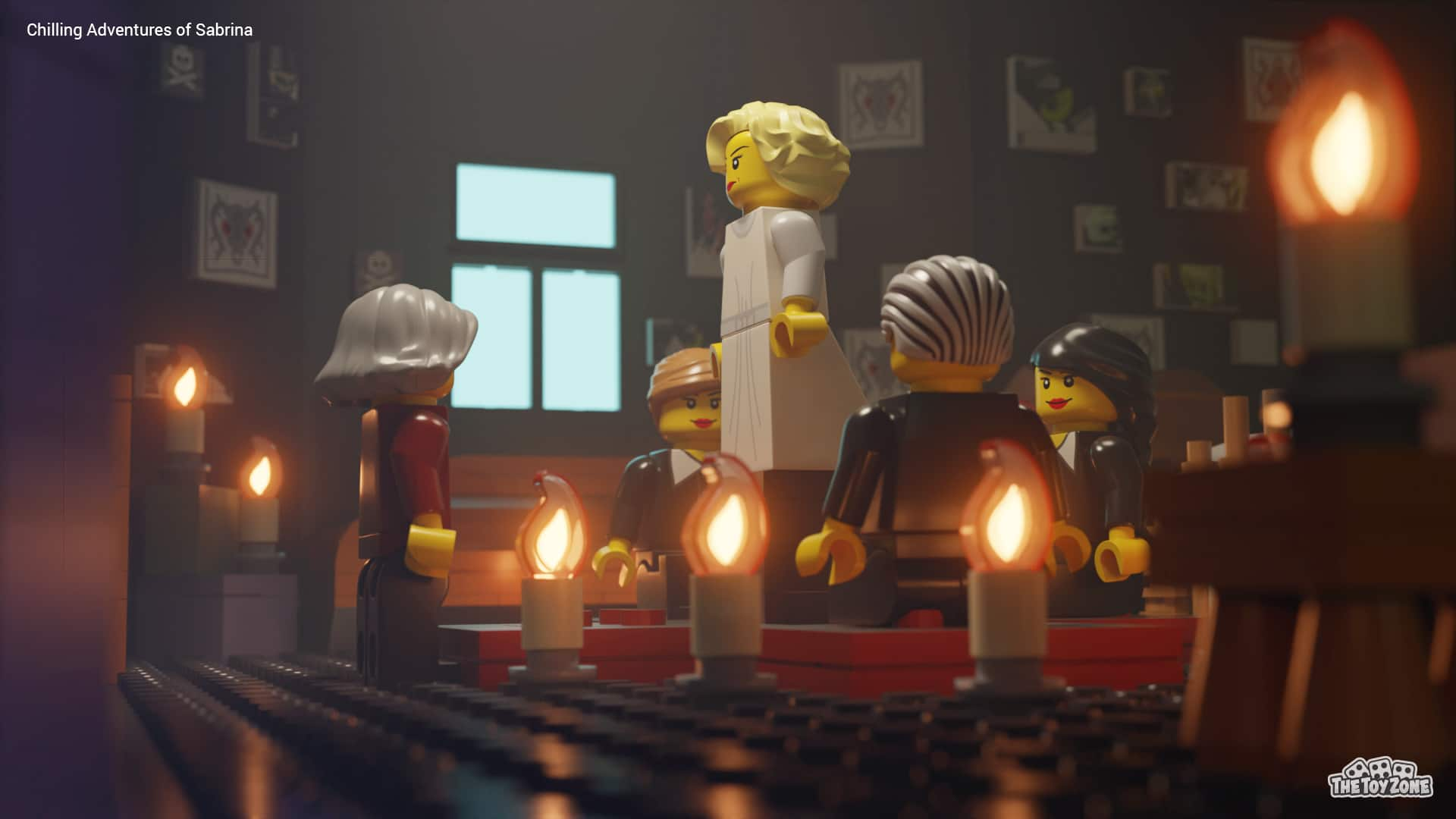 The Crown, Bridgerton, and other Netflix series get recreated in LEGO 24