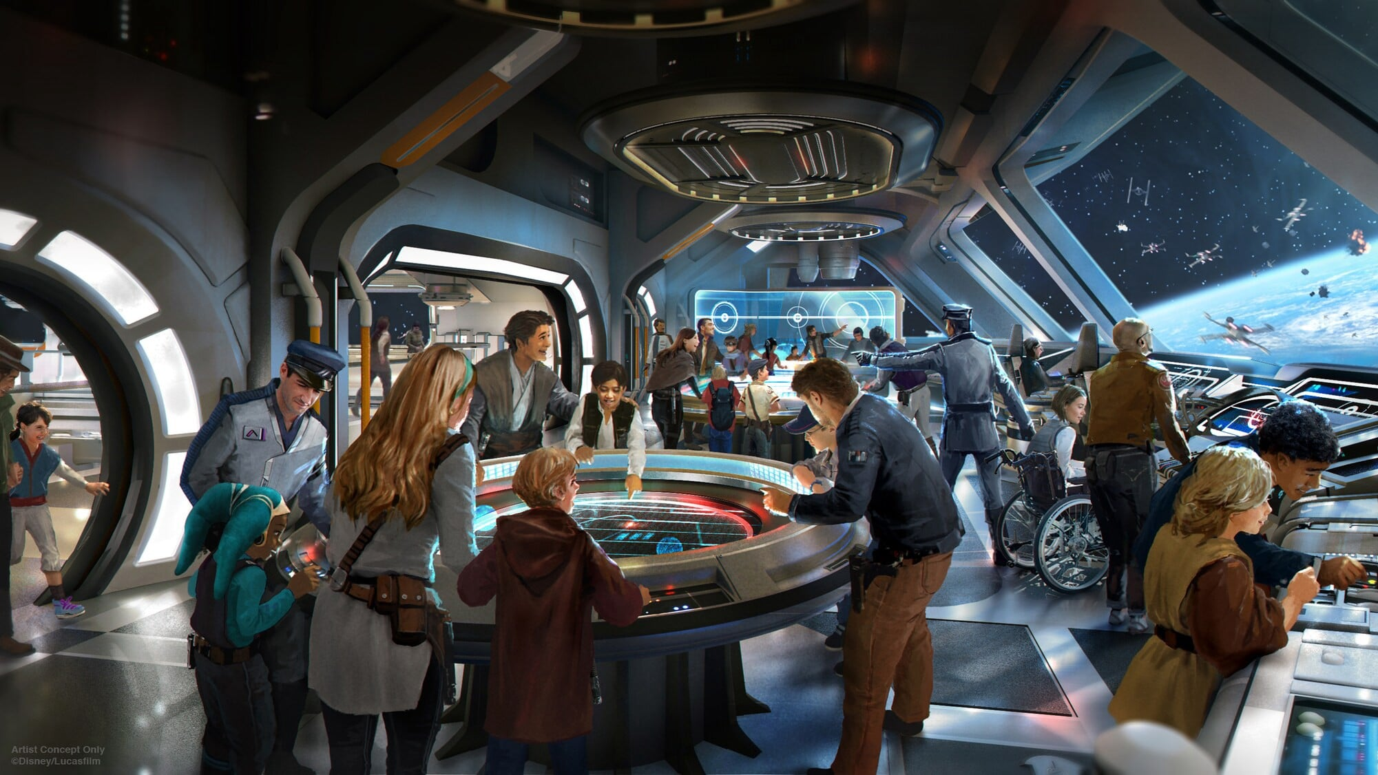 Star Wars: Galactic Starcruiser is opening at Disney World in 2022 17