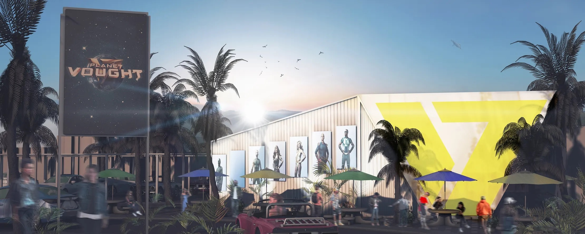 The Boys is opening a Planet Vought pop-up restaurant in Hollywood 17