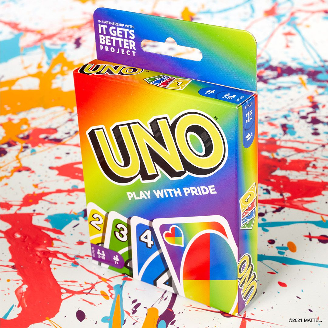 Mattel celebrates Pride Month with a rainbow-themed UNO card deck 16