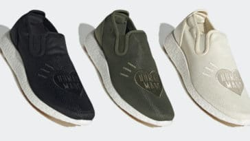 Adidas and Human Made team up for a Kung Fu-inspired slip-on shoe 16