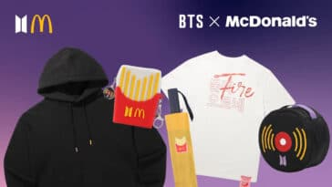 McDonald's BTS Meal arrives in the U.S. with limited-edition merch 51