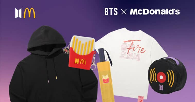 McDonald's BTS Meal arrives in the U.S. with limited-edition merch 15