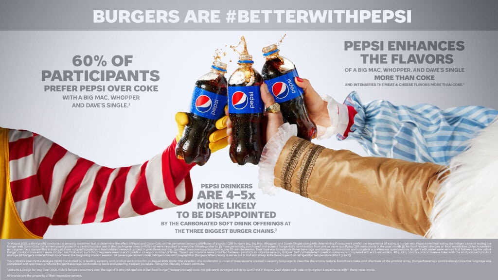 How to get free Pepsi on National Hamburger Day 16