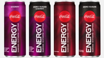 Coke Energy will no longer be available in North America 22