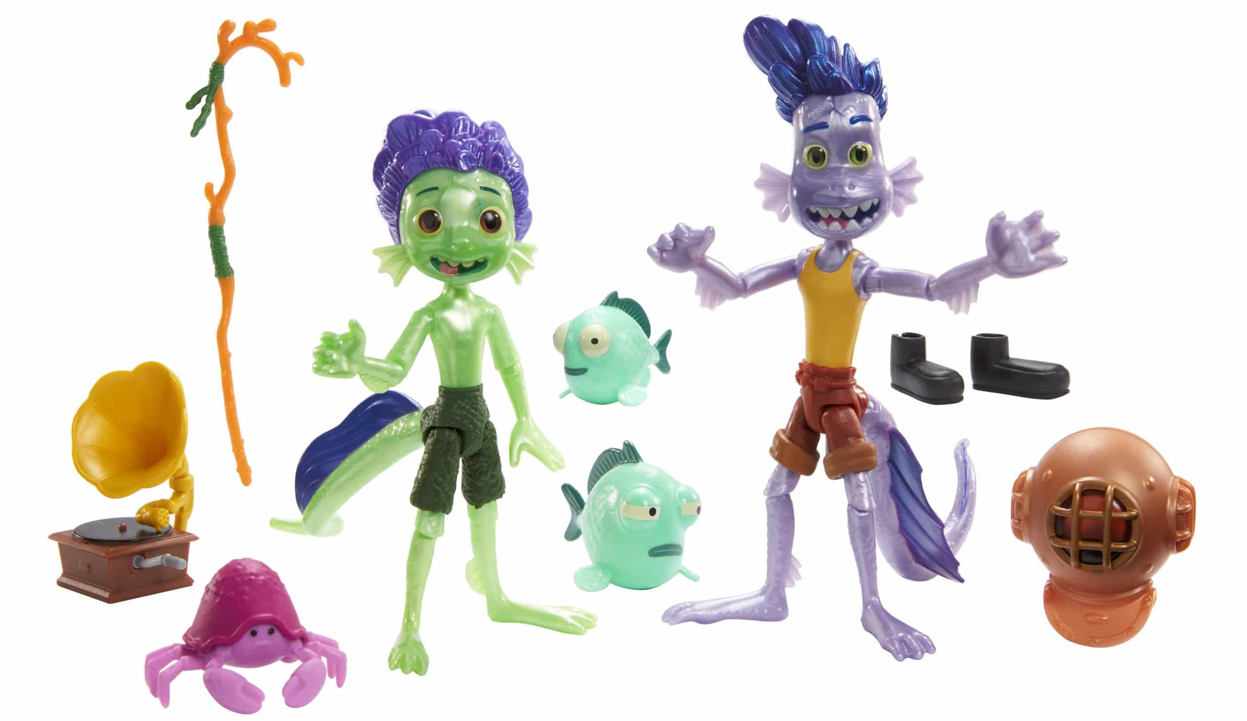 Mattel unveils Luca action figures ahead of the film's Disney+ premiere 16