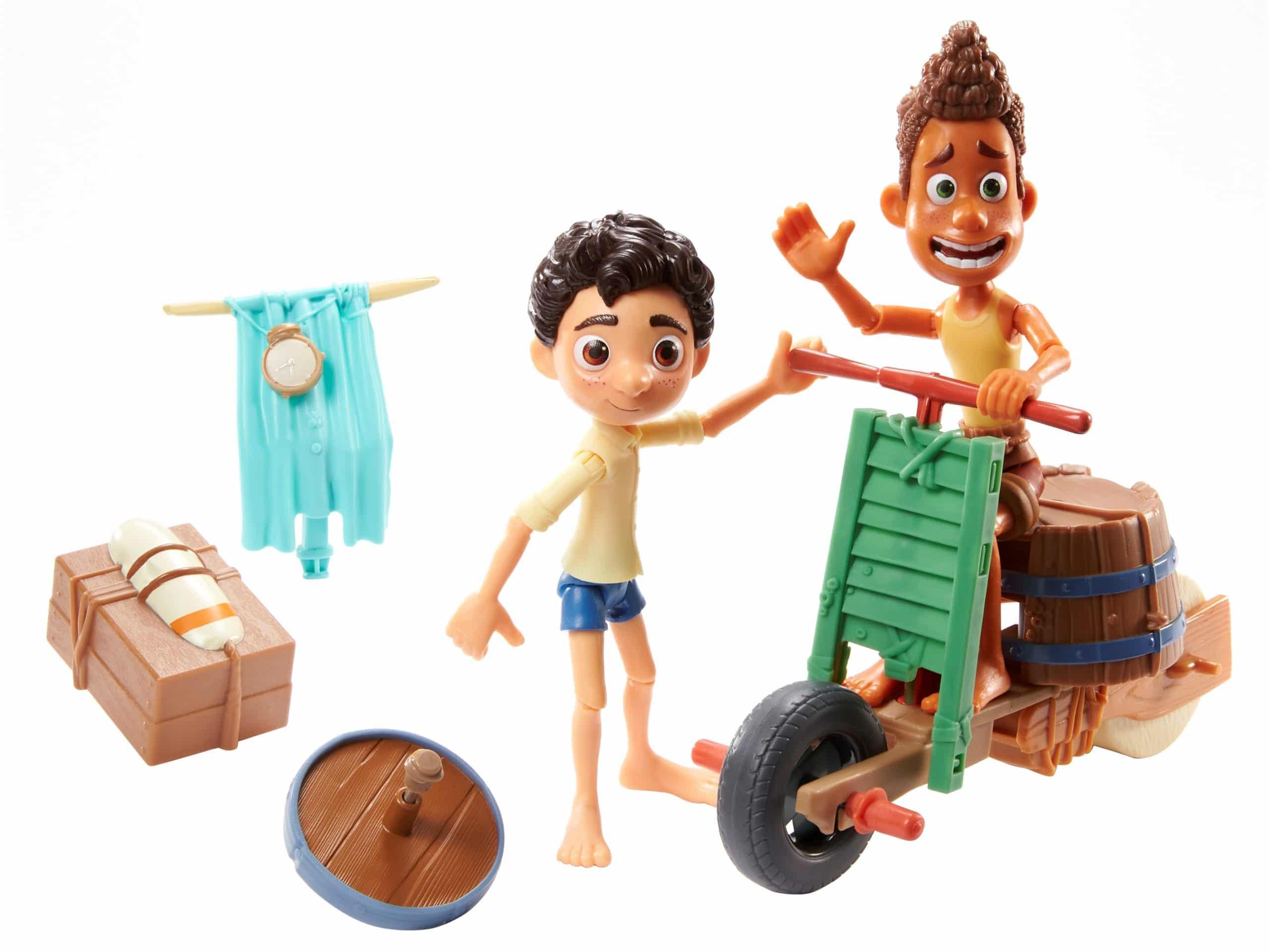 Mattel unveils Luca action figures ahead of the film's Disney+ premiere 17