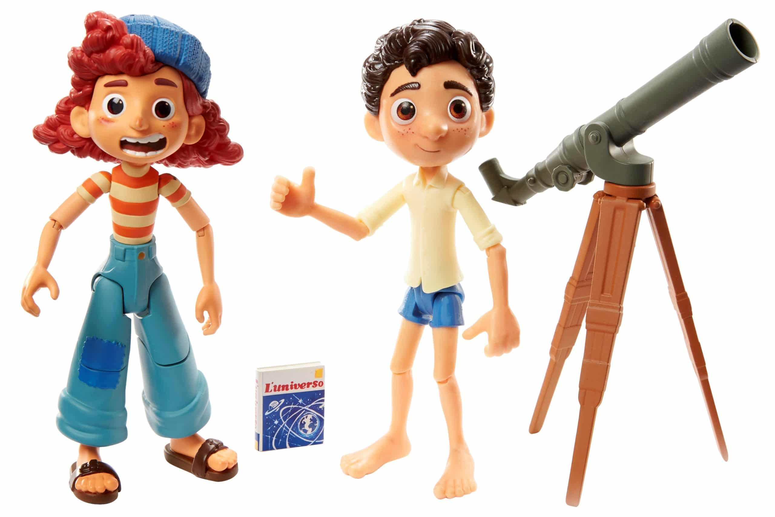 Mattel unveils Luca action figures ahead of the film's Disney+ premiere 18