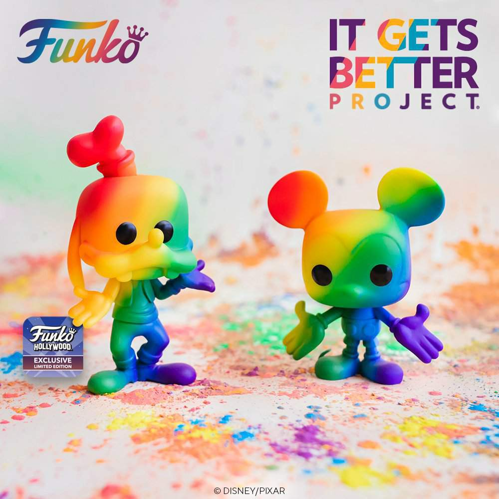Funko's 2021 Pride Pop! collection includes Deadpool, Mickey Mouse, and Stitch 18