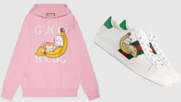 Gucci and Crunchyroll team up for a Bananya capsule collection 18