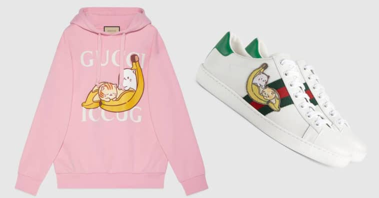 Gucci and Crunchyroll team up for a Bananya capsule collection 15