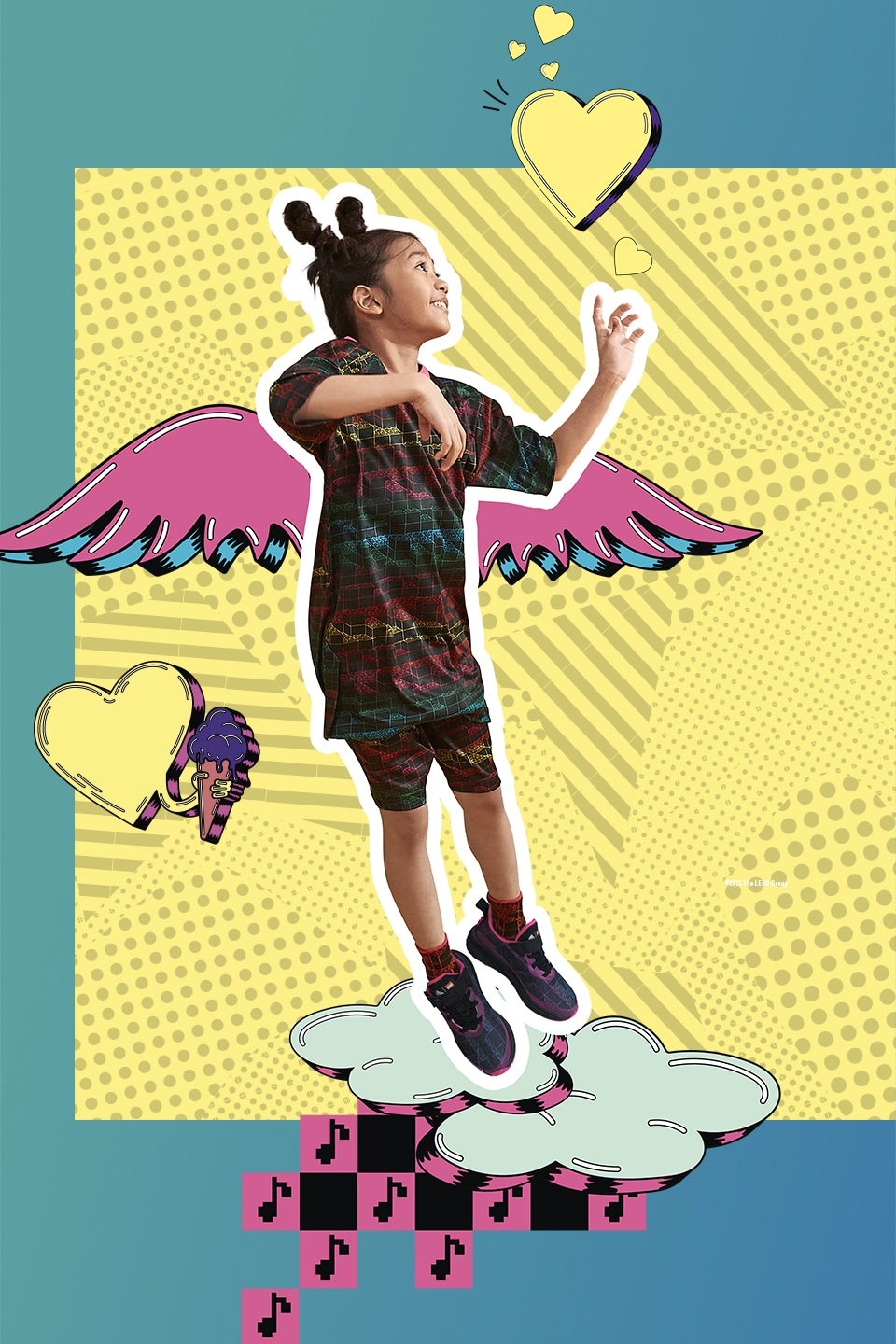 Adidas and LEGO launch shoe and clothing collaboration that promotes self-expression 19