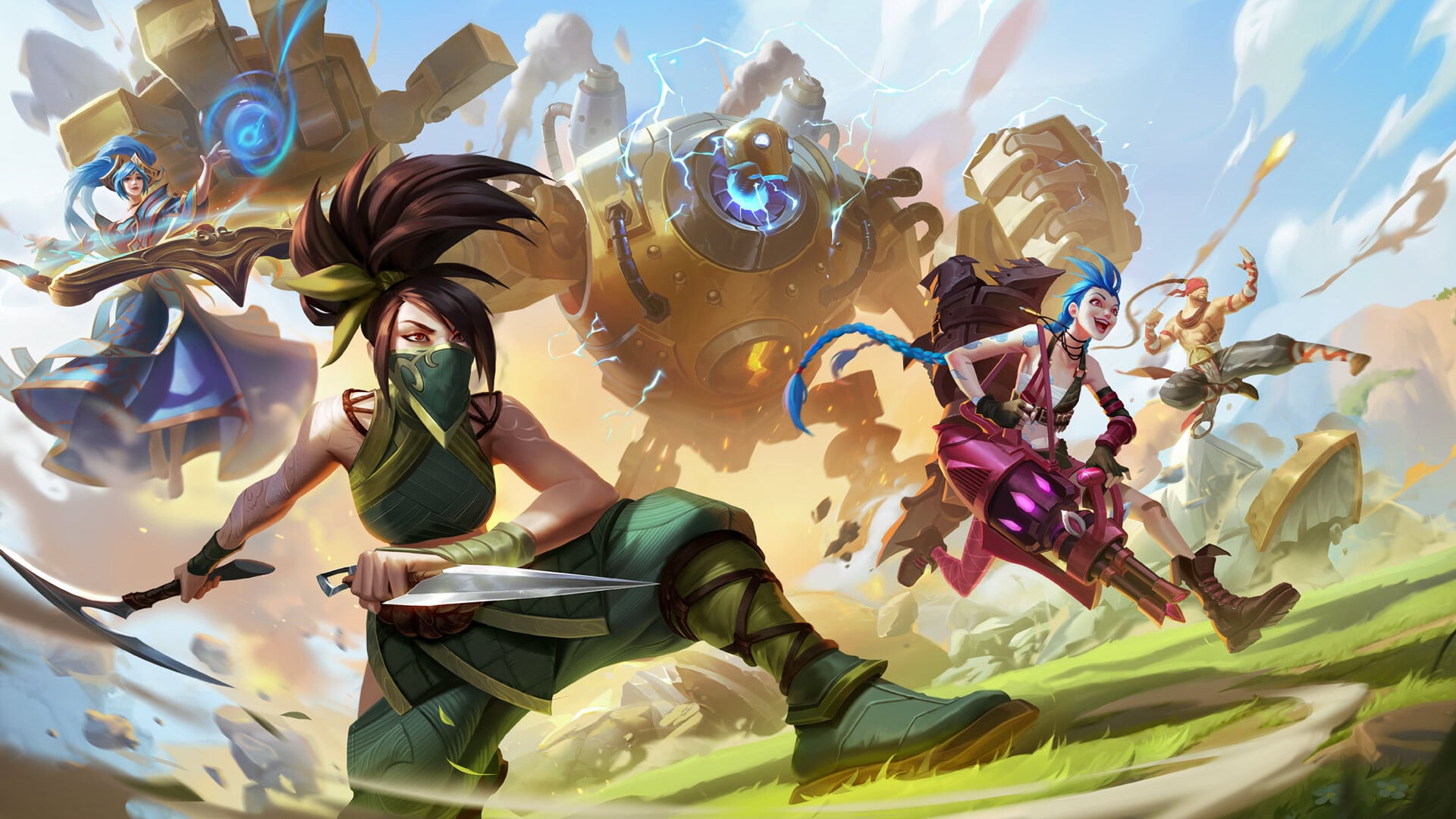 League of Legends animated series Arcane