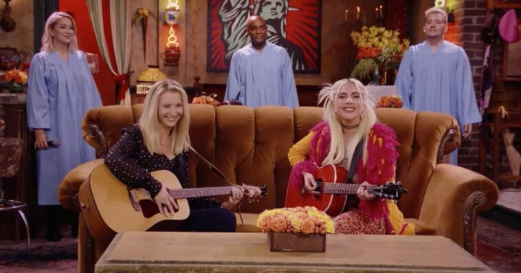 Lady Gaga sings Smelly Cat in Friends: The Reunion and fans can't get over it 15