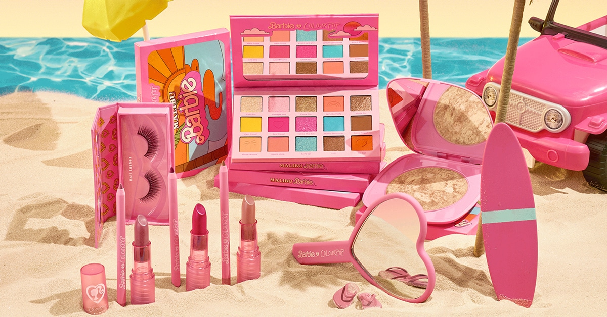 ColourPop drops a Malibu Barbie-inspired makeup collection in time for summer 19